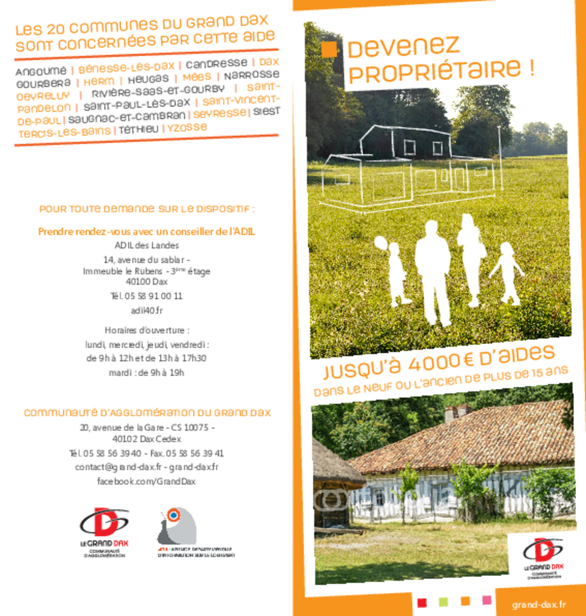 ouvrir site CAGD